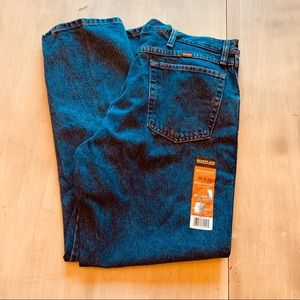 NWT Rustler hard working jeans 38x30